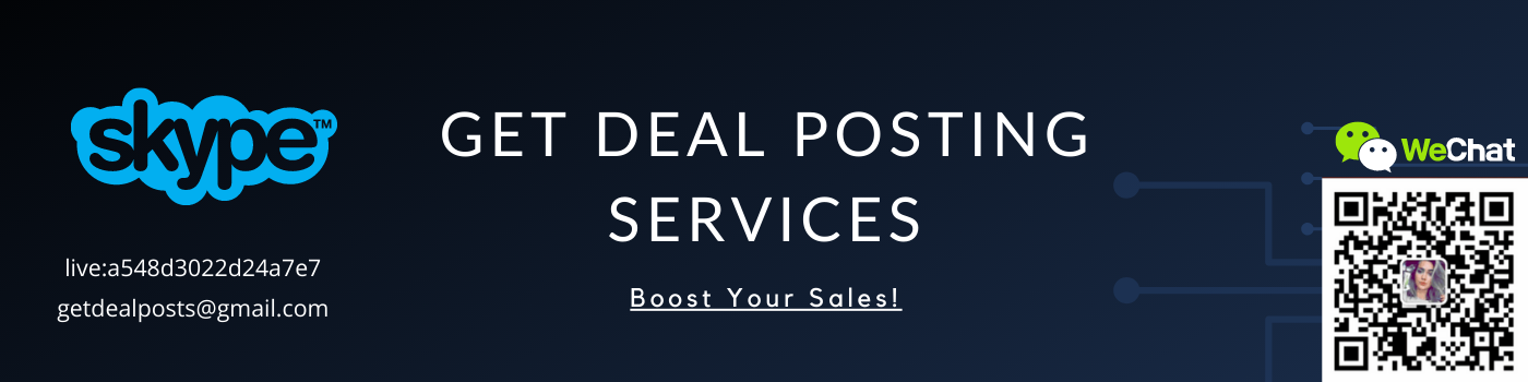 Deal Posting Services - Get Deal Post