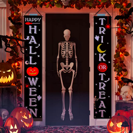 Get Deal Post - 50% OFF Halloween Trick or Treat Banner