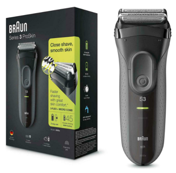 Braun Series 3 ProSkin 3000s Electric Shaver